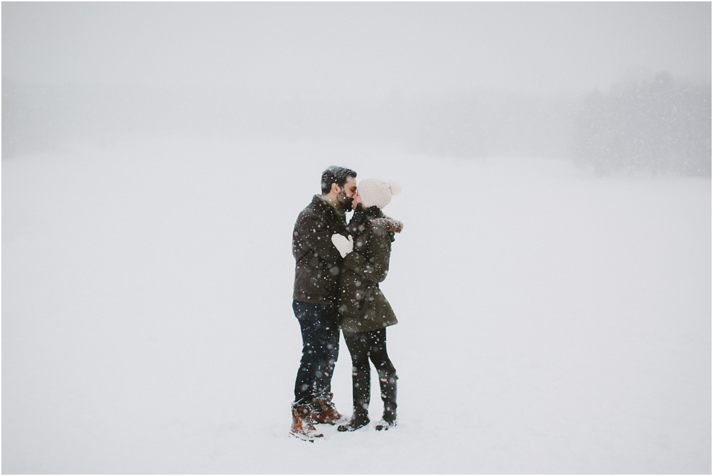snowy engagement session buffalo wedding photographers winter engagement session at chestnut ridge park