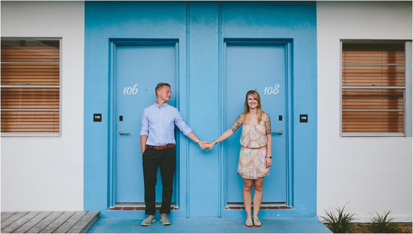 Post Card Inn St. Pete Beach Engagement Session