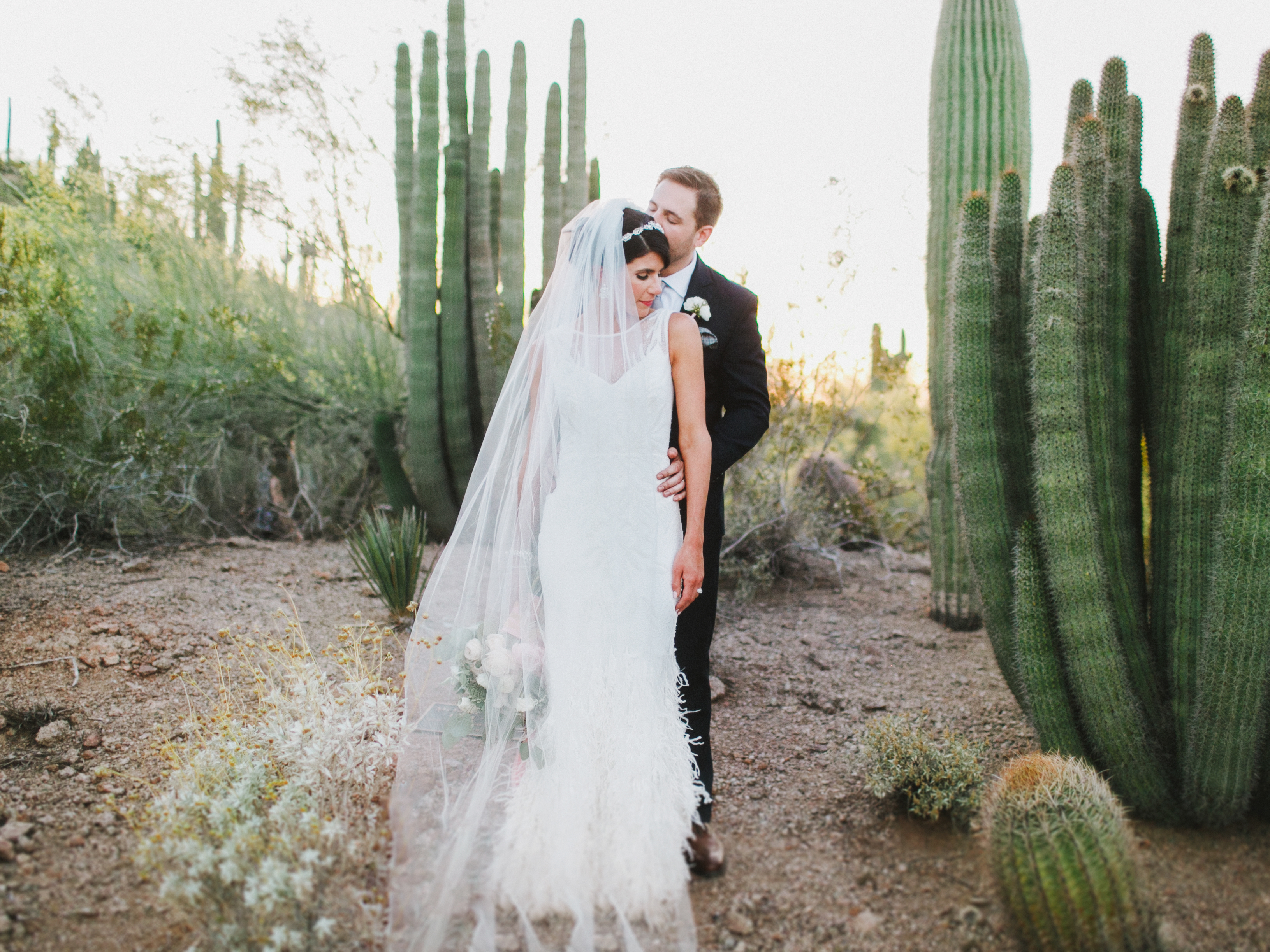 Desert Botanical Garden Wedding | Scottsdale, AZ Wedding Photographers