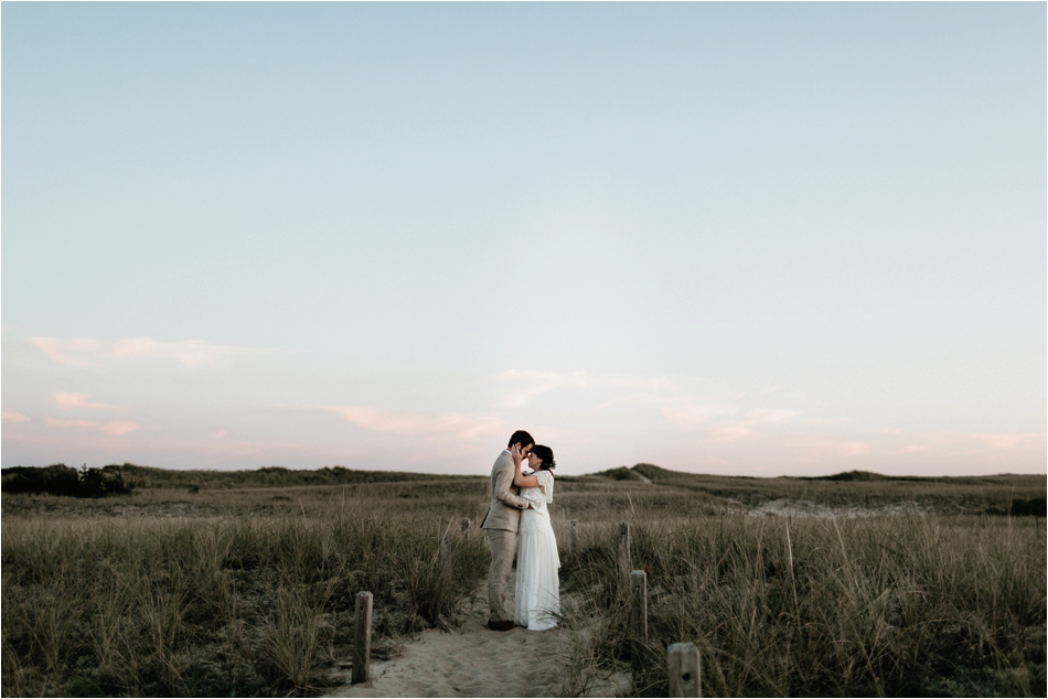 Nantucket Wedding Photographers. Shaw Photography Co. Creative Outdoor Wedding at the Hi-Nantucket Hostel