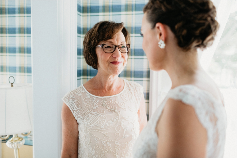 Lace Tadashi Shoji from BHLDN| Sodus Bay Wedding Photographers | Shaw Photo Co.