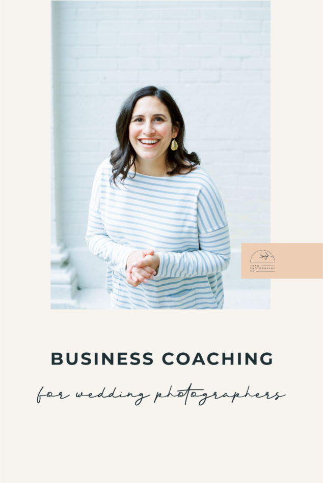 Business Coaching for Wedding Photographers by Aligned + Kind