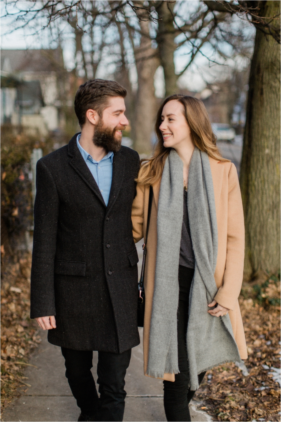 Simone and Josh | Winter Engagement Session Buffalo New York | Shaw Photography Co.