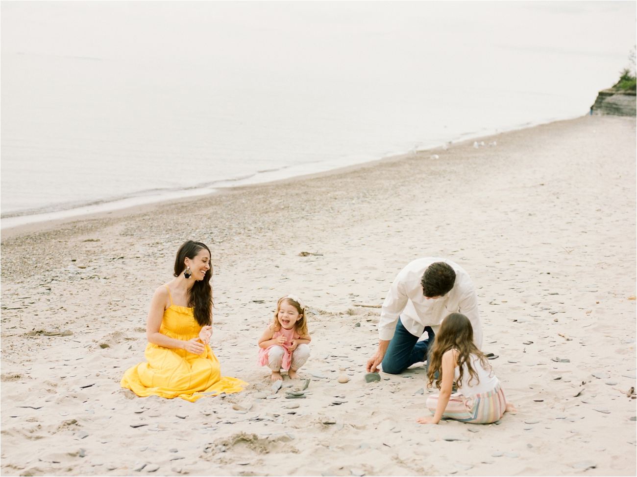 Evangola State Park Family Session on Film